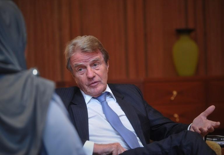 Doctors without Borders Dr Bernard Kouchner