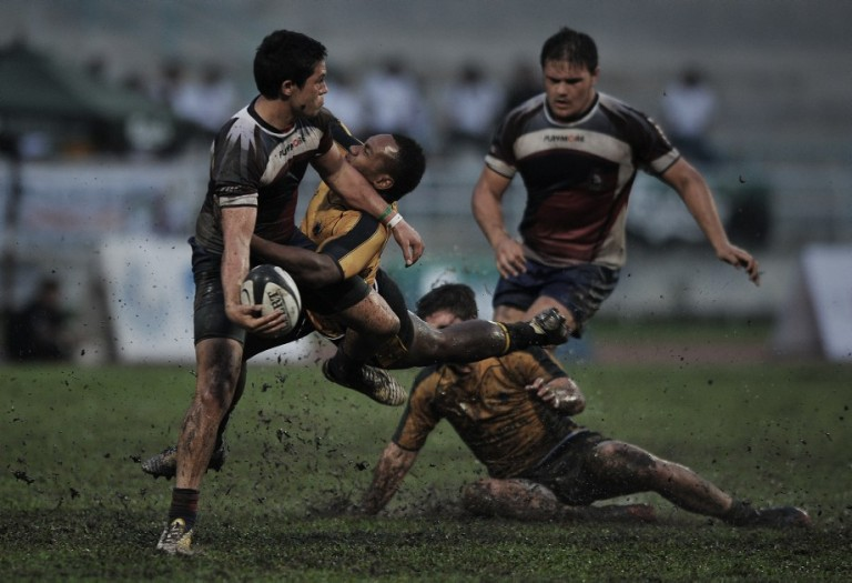 Final Borneo Eagles vs Cobra Rugby during 44th HSBC Cobra 10s 2013 . Photo by Firdaus Latif