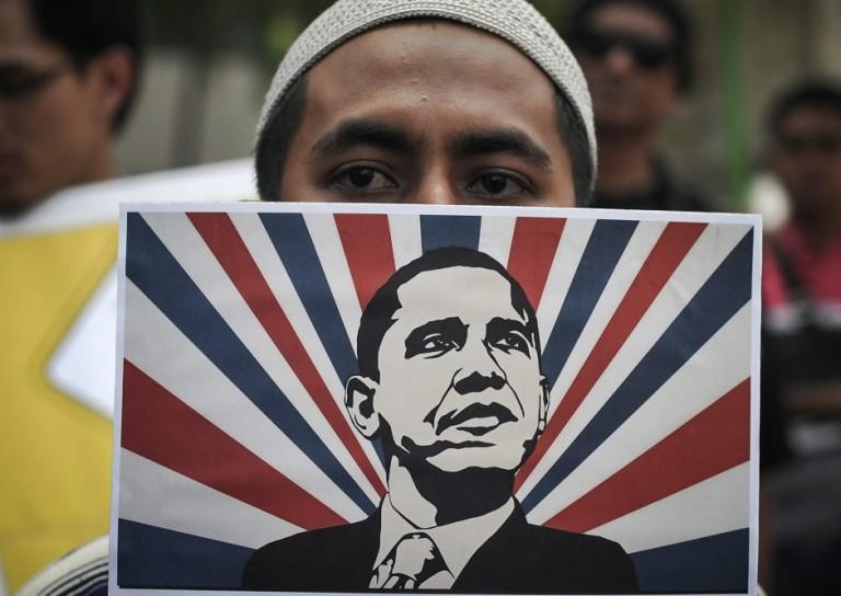 MALAYSIA USA OBAMA PROTEST